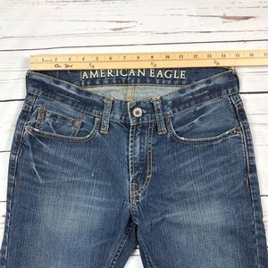 Women's American Eagle Low Rise Jeans Boot Size 28